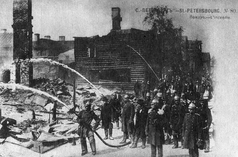Брандмайор Санкт-Петербургской Пожарной Команды М.А. Кириллов 1902 г.