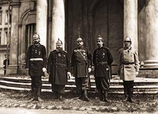 Группа членов Совета Императорского Российского Пожарного Общества 27 мая 1903 года.