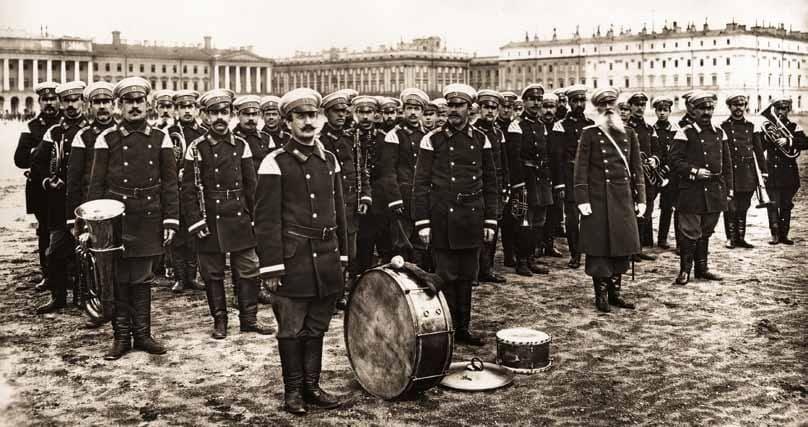 Духовой оркестр Пожарной Команды Санкт-Петербурга 26 июня 1900 г.