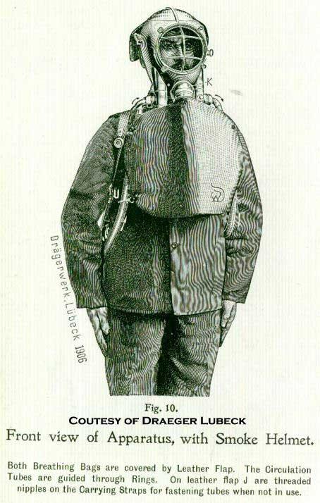 Дыхательный аппарат фирмы Драгер