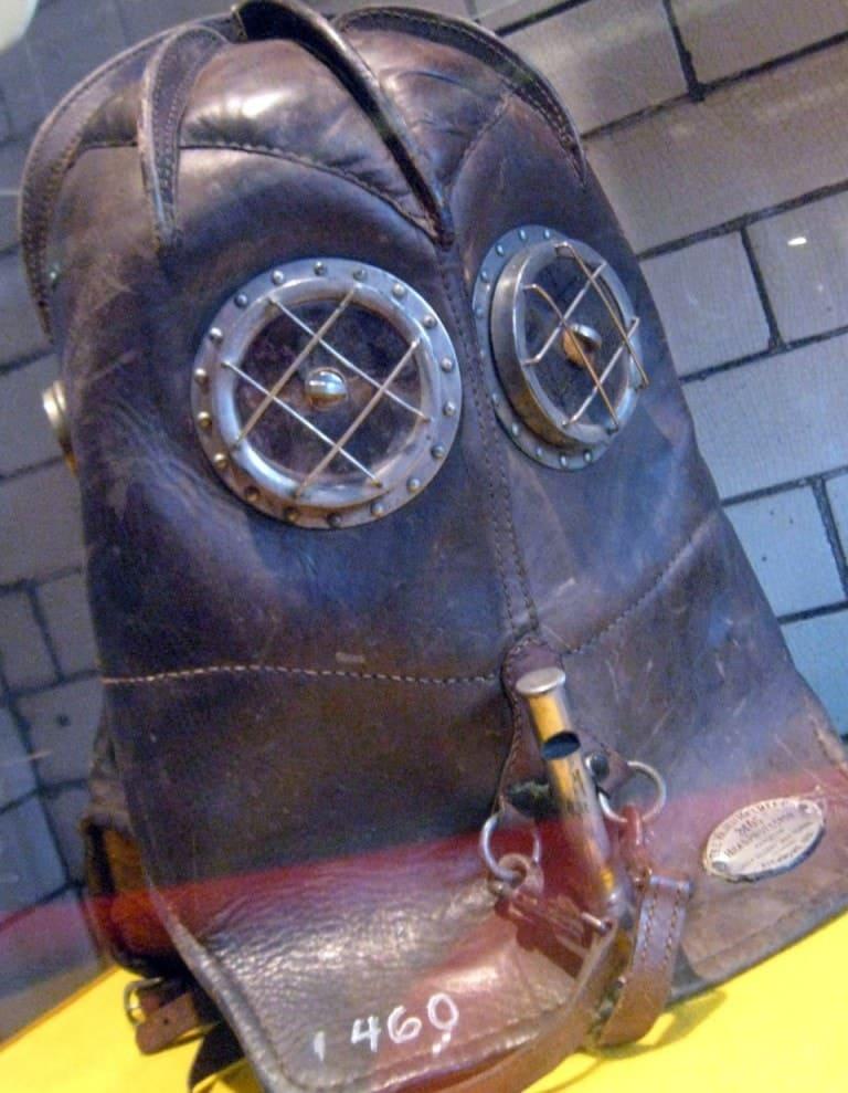 Дымовой шлем Vajen Bader5