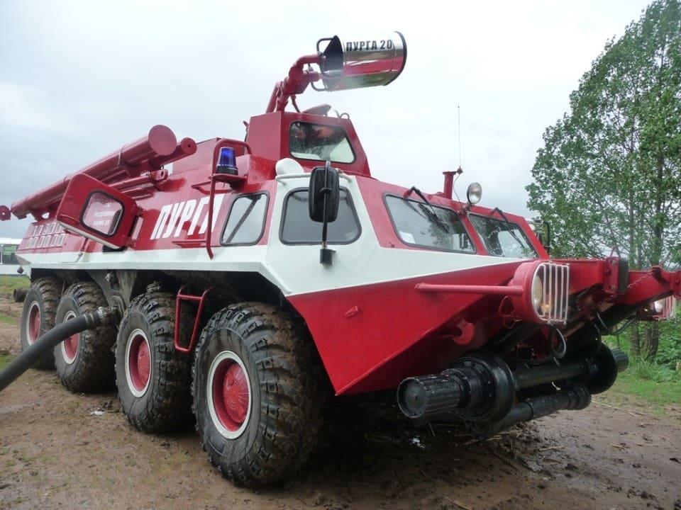 Пожарный ГАЗ-59402 Пурга