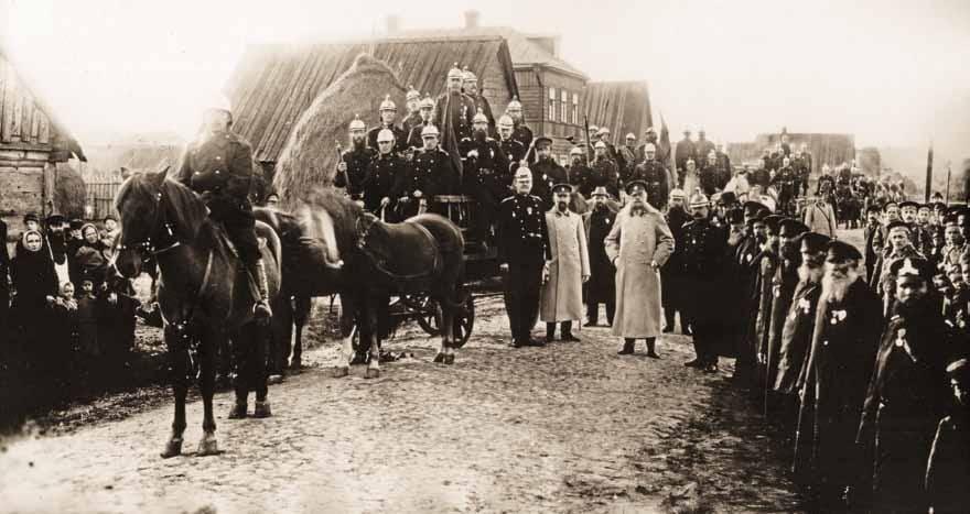 Пожарная Команда Петровского Отдела 1900 г.