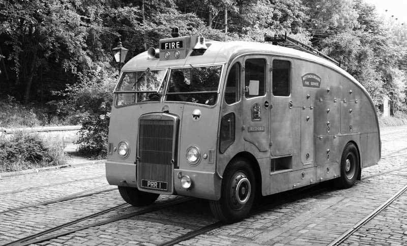 Пожарная автоцистерна Leyland Titan