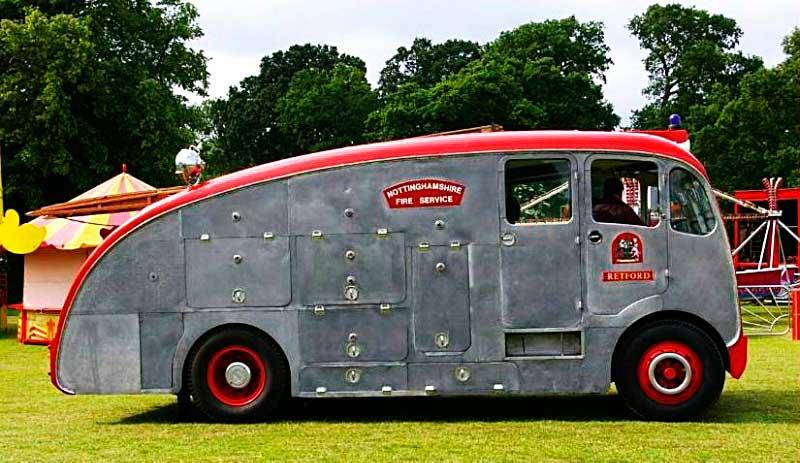 Пожарная машина Leyland Titan