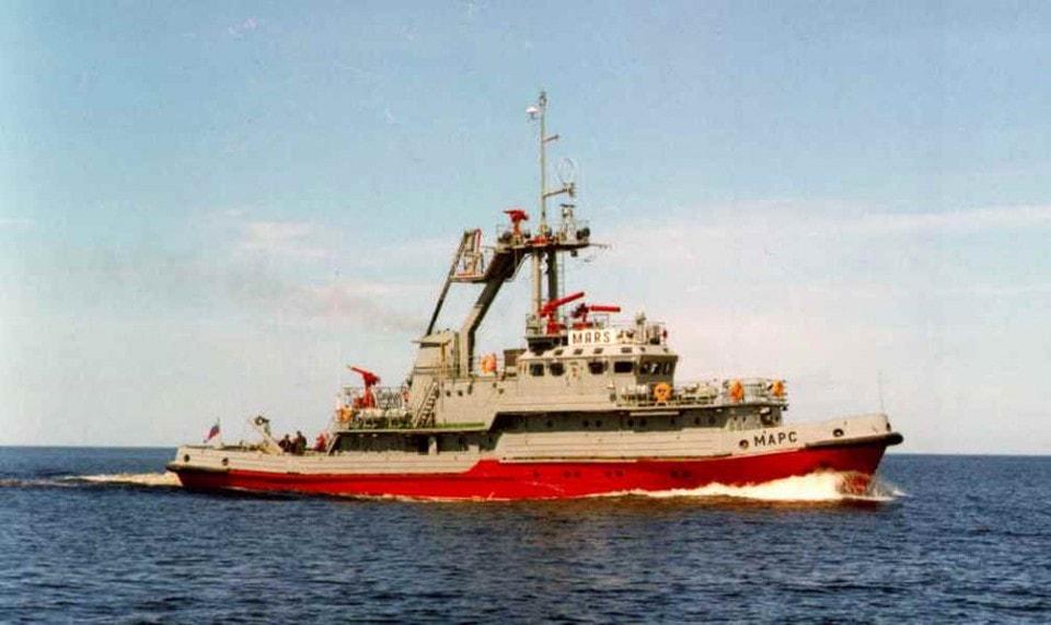 Пожарное судно проекта 14613 МАРС