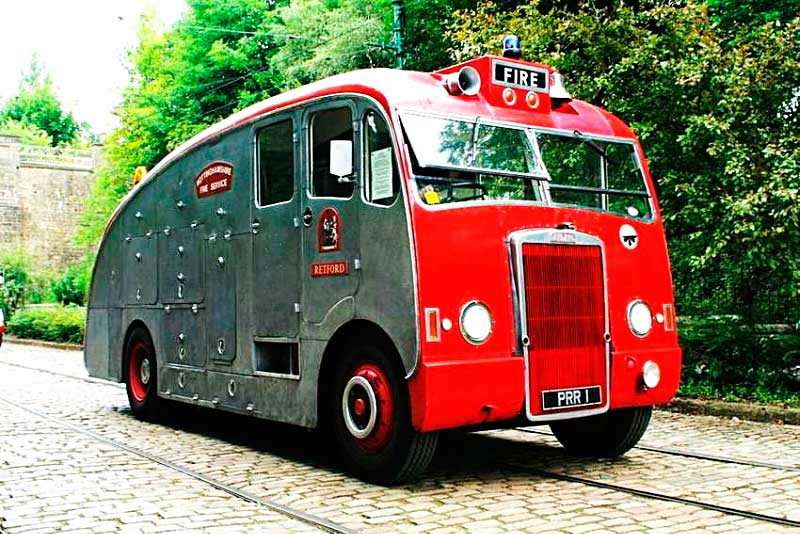 Пожарный автомобиль Leyland Titan