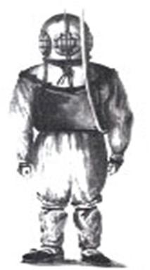 Шлем Чарльза Дина для водолазных работ
