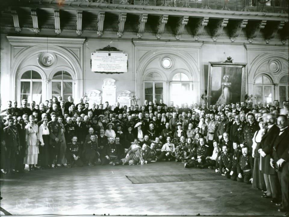VII Съезд членов Российского Пожарного Общества 12 июня 1916 год