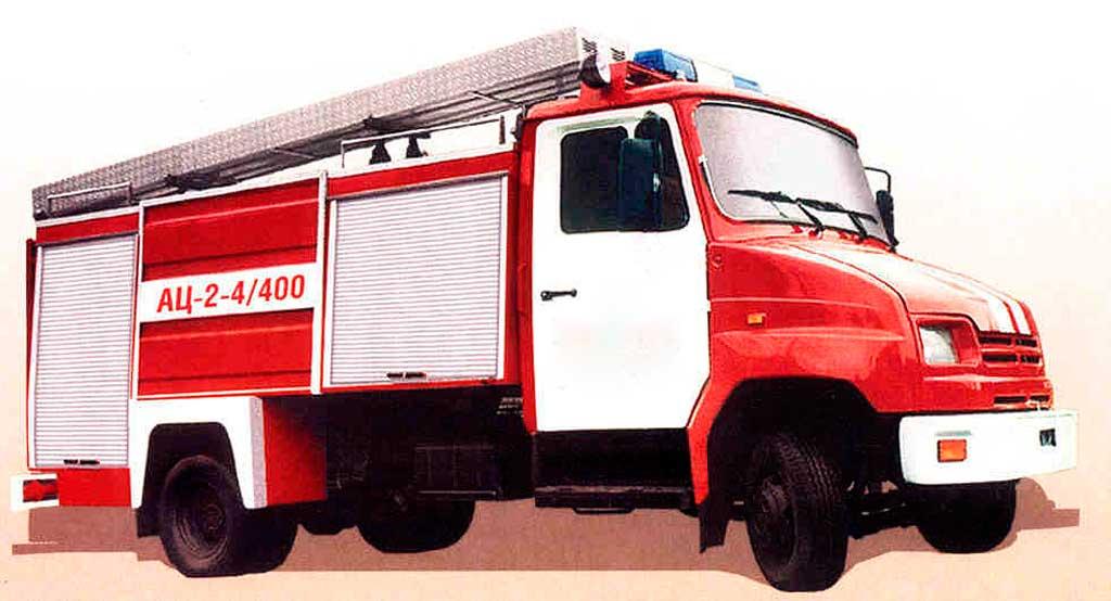 Автоцистерна пожарная легкого класса АЦ-2,0-4/400 (5301)
