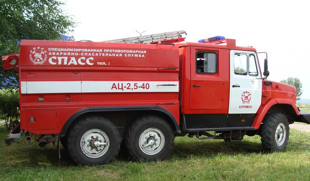 Автоцистерна пожарная среднего класса АЦ-2,5-40 (433442)