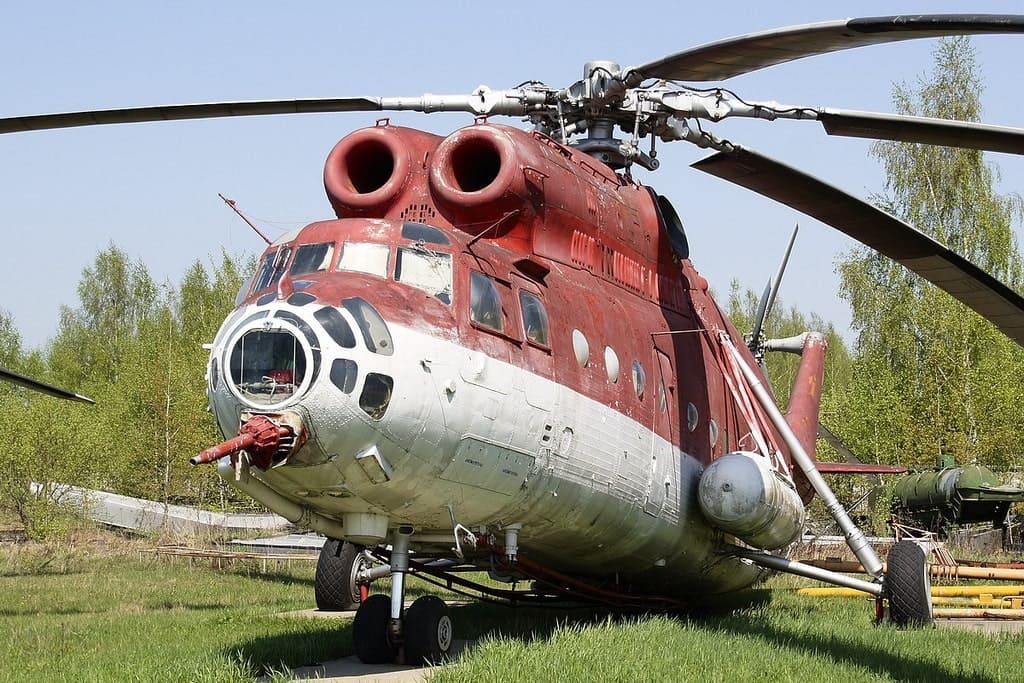 Вертолет пожарный МИ-6ПЖ