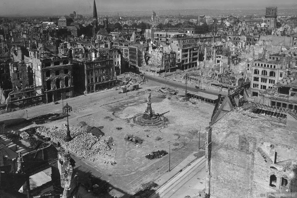 Гамбург после массового пожара