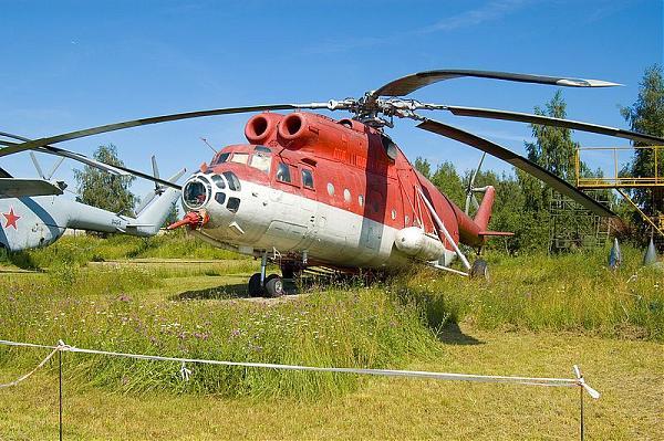 Ми-6ПЖ2 - экспонат в Монино