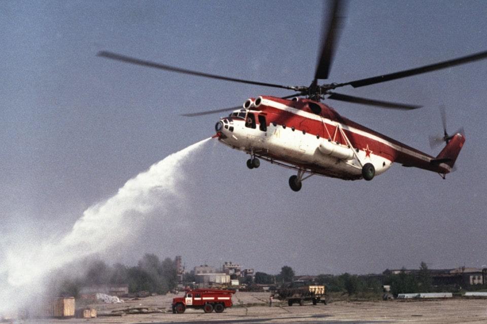 Ми-6ПЖ2 в работе
