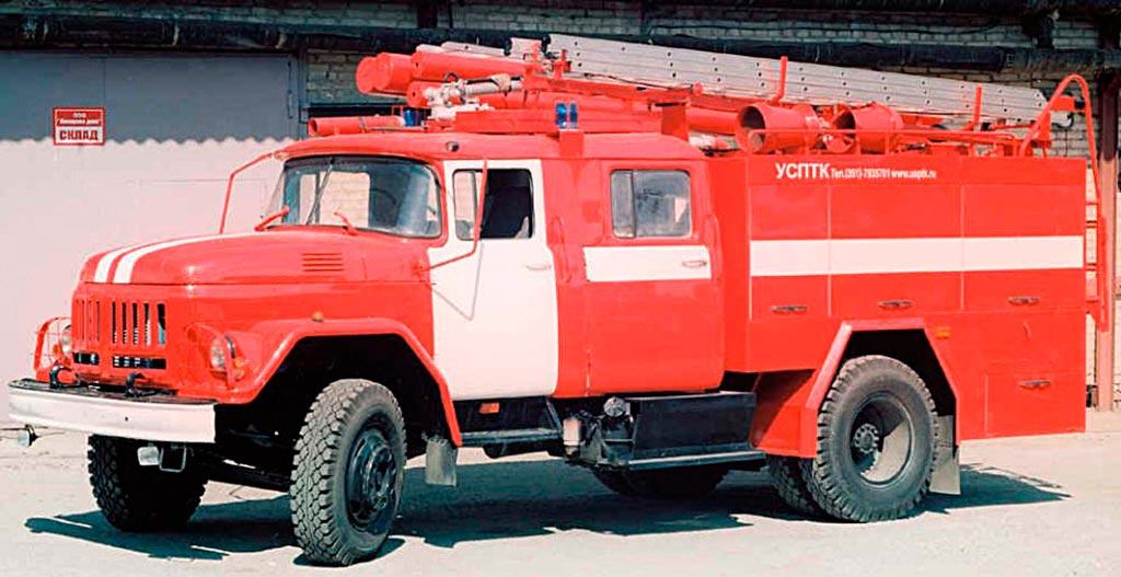 Автоцистерна пожарная среднего класса АЦ-2,3-40 (531350)