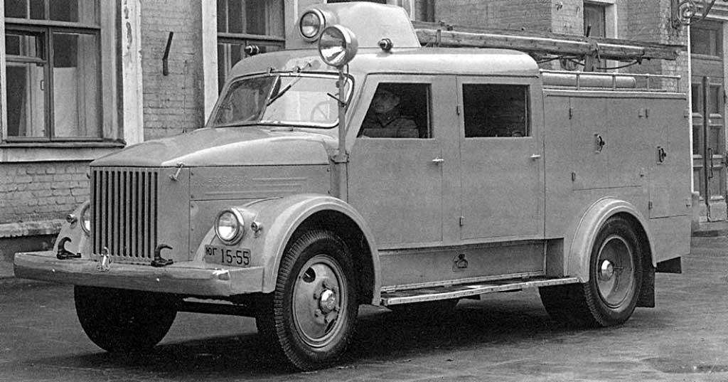 Пожарная автоцистерна ПМГ-6
