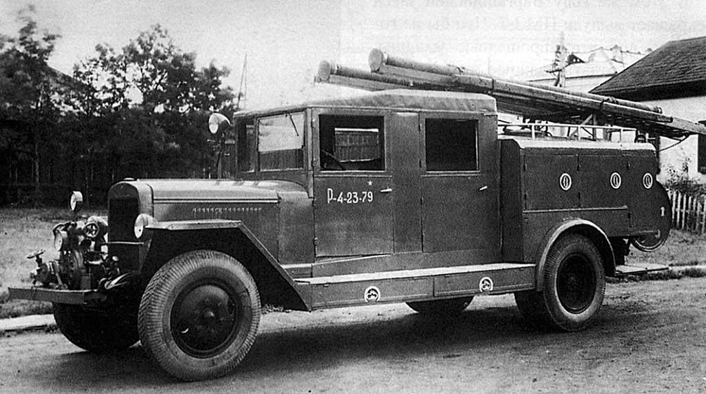 Пожарная автоцистерна ПМЗ-8