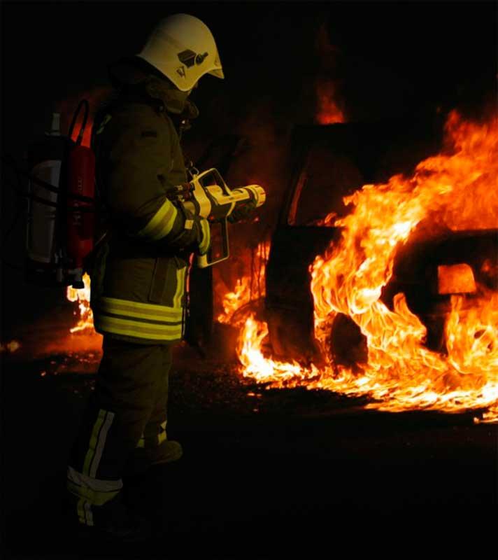 Тушение пожара HPI 1000
