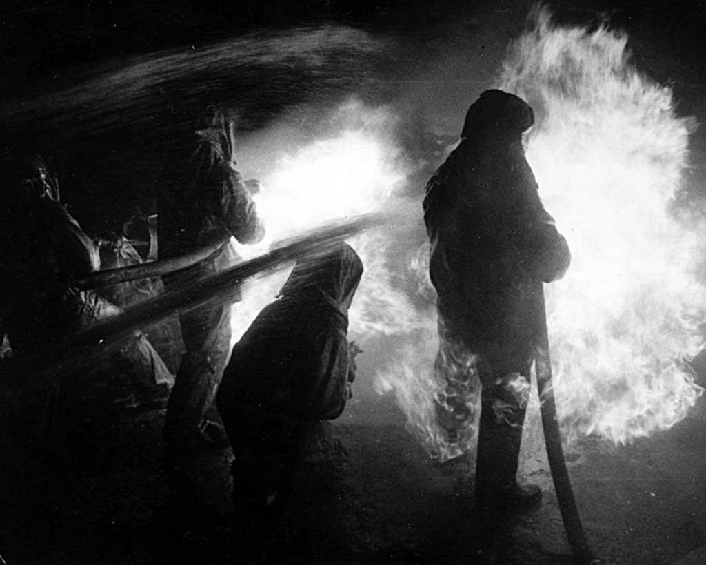 Тушение пожара на Пермском НПЗ (16 июня 1966 года)