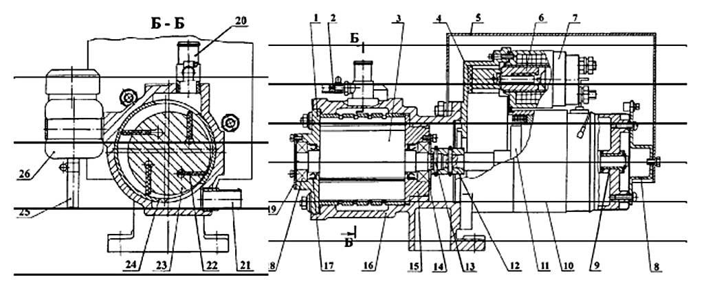 Вакуумный агрегат
