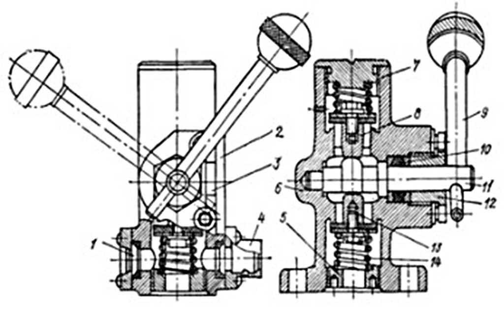 Рис. 2. Вакуумный клапан