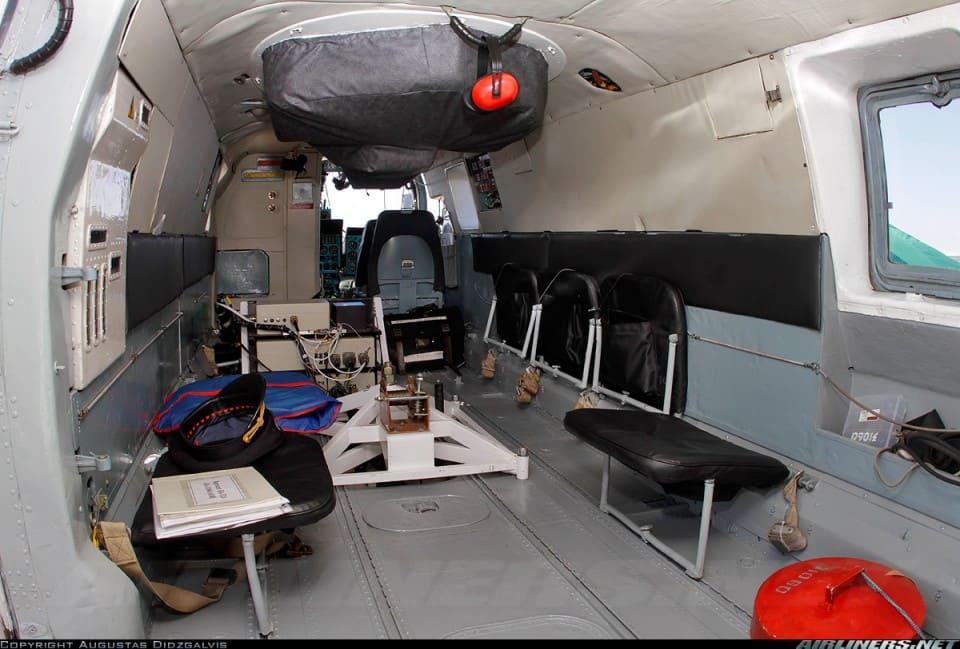 Салон пожарно-спасательного вертолета Ка-32А