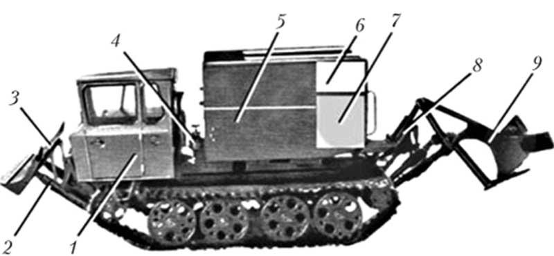 Устройство ТЛП-55