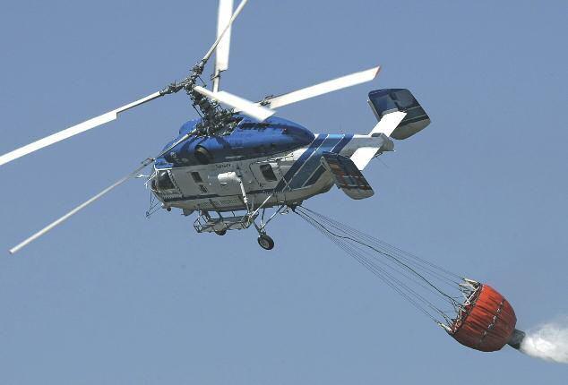 Пожарно-спасательный вертолет Ка-32А11BC