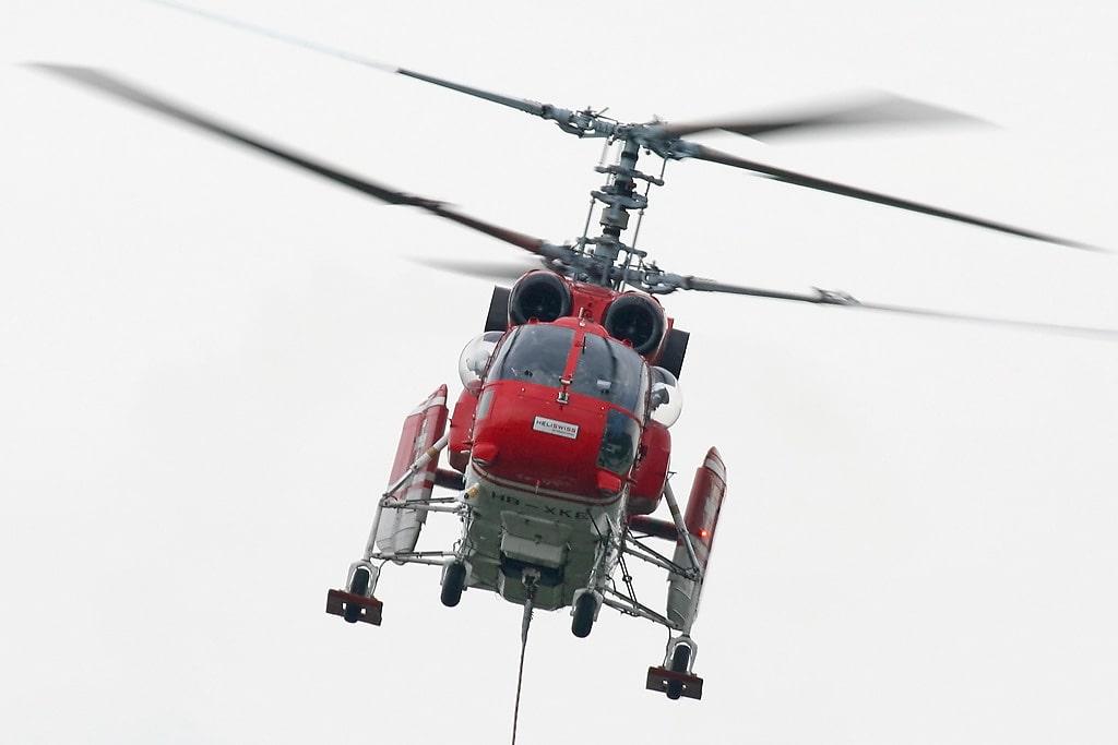 Вертолет Ка-32А12. Швейцария