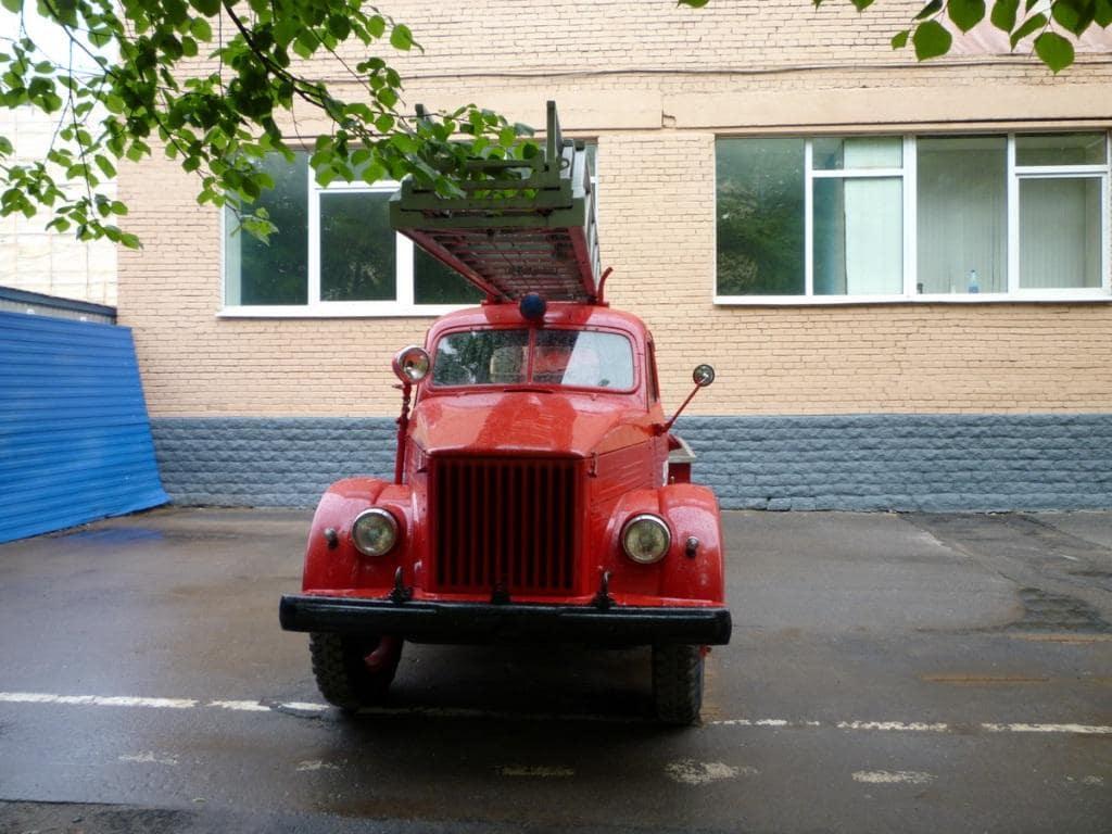 АЛГ-17(51)ЛЧ, шасси ГАЗ-51 вид спереди
