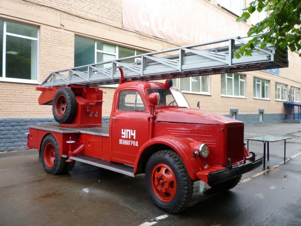 Пожарная автолестница АЛГ-17(51) ЛЧ