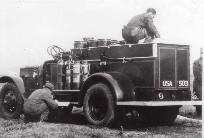 Автомобиль Class 100 USA W-503 1932 год