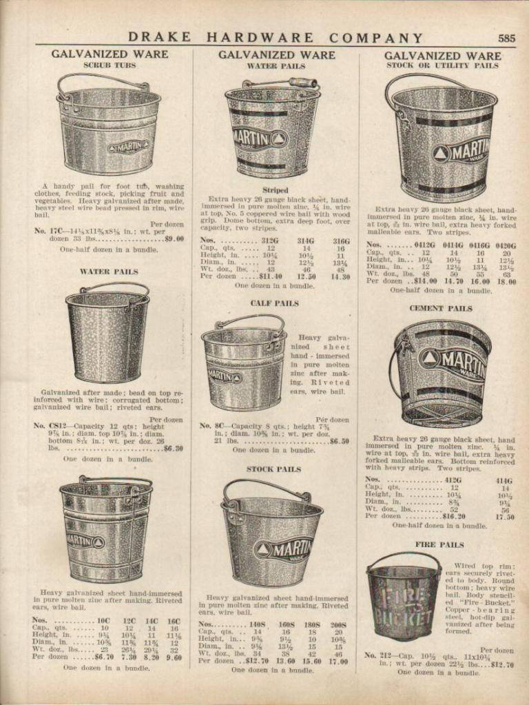 Буклет компании пожарные ведра 1943 год