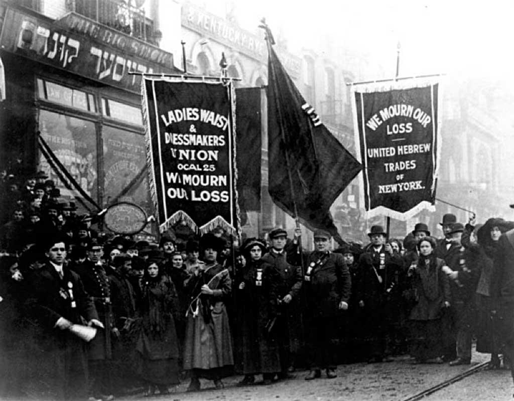 Похоронная процессия 5 апреля 1911 года