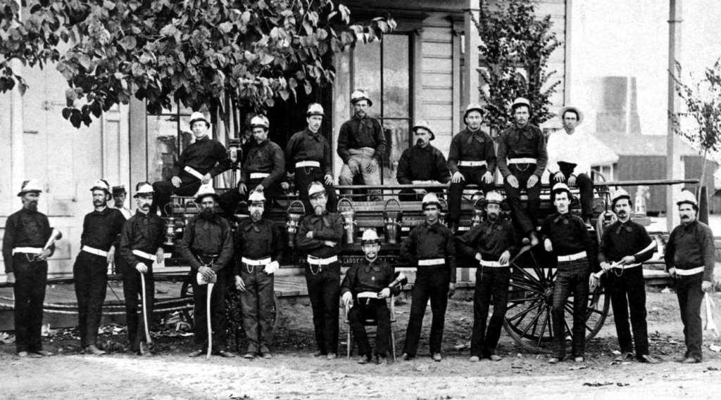 Пожарная бригада 1877 год