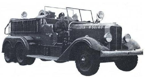 Пожарный автомобиль Class 100, США, 1939 год
