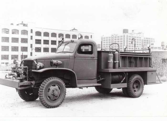Пожарный автомобиль Class 135 Chevrolet-Mack 1944 год