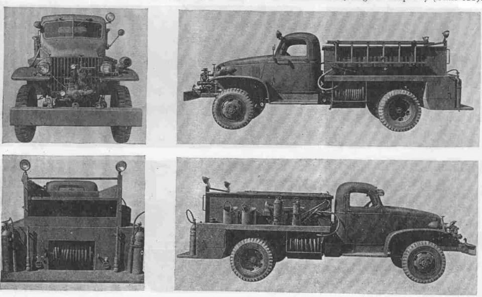 Военный пожарный автомобиль Class 135