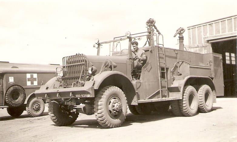 Военный пожарный автомобиль Class 155 Kenworth-Mack