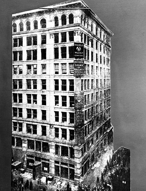 Asch Building, 329 на Манхэттене на углу Грин-Стрит и Вашингтон-Плэйс (Нью-Йорк, США)