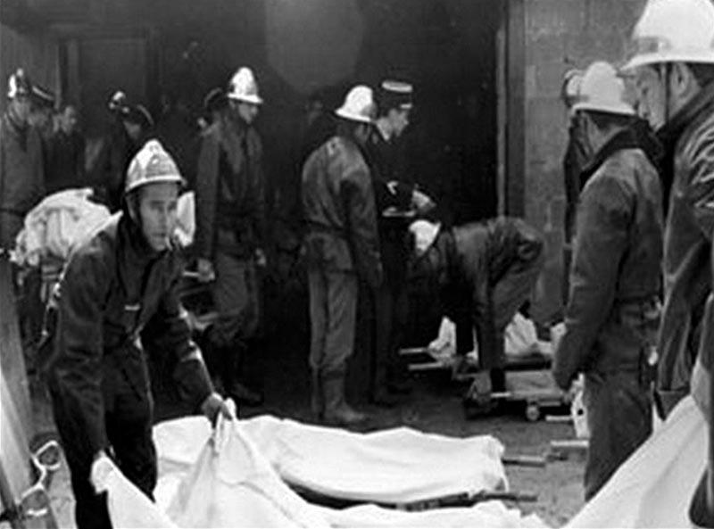 Жертвы пожара на дискотеке «5-7»