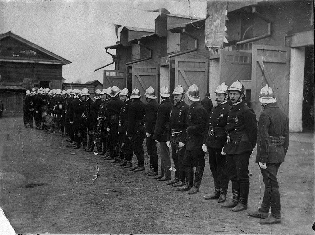 Добровольная пожарная дружина Иркутска