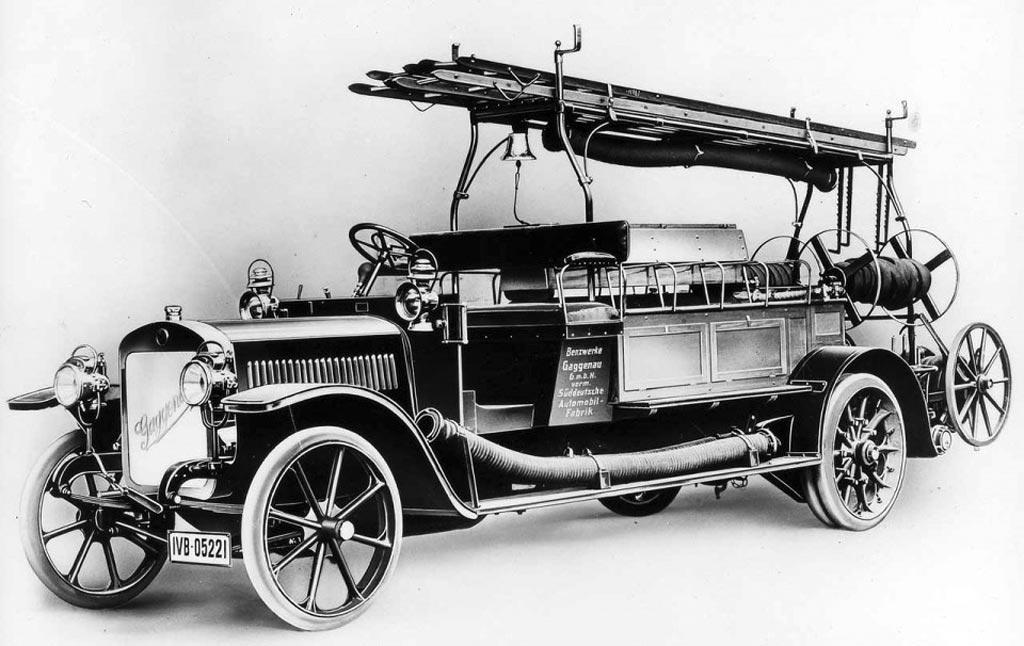 Пожарный автонасос Benz Grunewald