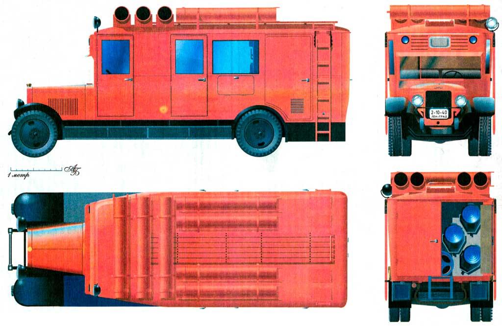 Прожекторный автомобиль ЛГПО