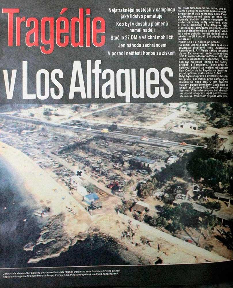 Трагедия в Лос-Альфакес