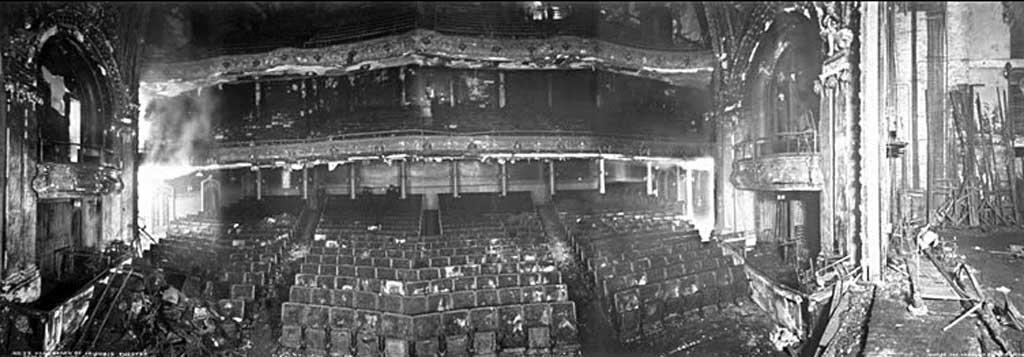 После пожара в театре «Ирокез» (Чикаго, США, 1903 год)