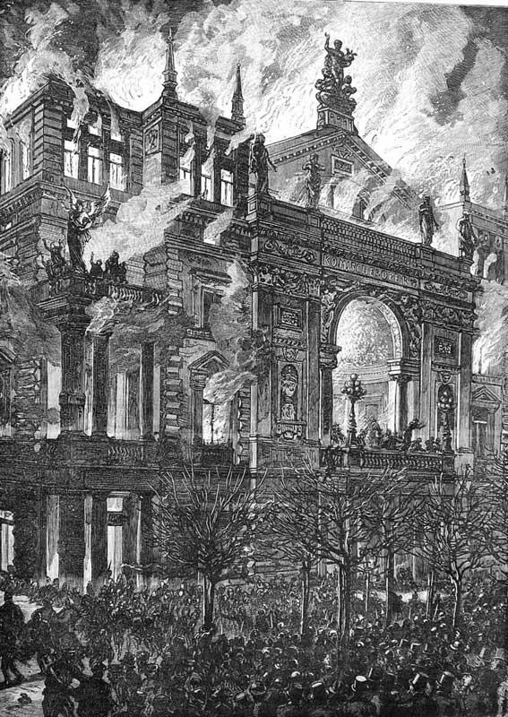 Пожар в Ринг-театре Вены (8 декабря 1881 года)