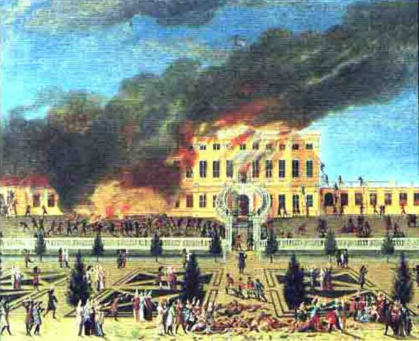 Пожар в замке Амалиенборг (Копенгаген)