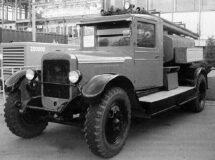 Пожарная автоцистерна ПМЗ-2 (реконструкция)